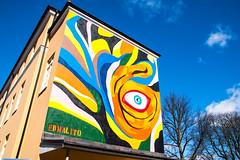 Mural by Edmalito (Maria Eklind) Tags: mural malmö streetartmalmö norraskolgatan streetart sweden graffiti edmalito street publicart city skånelän sverige se