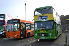 Southdown 651 AAP651T (Will Swain) Tags: rochester coach park during nuventure running day 30th december 2017 south east medway town bus buses transport travel uk britain vehicle vehicles county country england english southdown 651 aap651t brighton hove 235 r235hcd