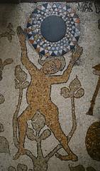 OTRANTO MOSAICO DI PANTALEONE 54n (opaxir) Tags: mosaico otranto pantaleo cattedrale puglia apulia atlante