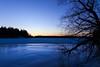 Winter eve (Antti Tassberg) Tags: luonto landscape pitkäjärvi auringonlasku jää talvi bluehour outdoor laaksolahti espoo suomi järvi aurinko finland ice lake nature scandinavia sun sundown sunset winter uusimaa fi