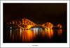 Forth Bridge Glow at Night (flatfoot471) Tags: 2017 autumn bridge fife firthofforth landscape lighttrails lothian night normal october riverforth scotland southqueensferry unitedkingdom midlothian gbr
