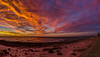 Big Sky Over Port Hughes (Cisc Pics) Tags: porthughes southaustralia australia sunset stitched panorama panoramic sky clouds colour beach jetty wharf nikon nikkor nature d7000 dx 18200mm yorke peninsula