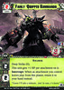 Apoka The Laughing God Fairly Quipped Kommando (Conquest Cards DB) Tags: soldier army loyal ork deep strike
