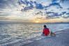 Looking at sunset (theo.mirk) Tags: θεσσαλονικη sea looking macedoniagreece port sunset red dog thessaloniki