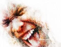 "Madamnesia digita artist ""il grido"" (Madamnesia_illustrator) Tags: madamnesia disegno drawing digitale digitalart faces fotografia film fantasy colorpainting community colore works artworks artedigitale digital day uomo urlo"