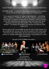Motherlogues @ForkedTheatre @kingssalford @GMFringe July 2018 (Greater Manchester Fringe) Tags: motherlogues kingsarms salford forkedtheatre greatermanchesterfringe gmfringe truelife verbatim theatre political yearofthewoman female monologues what'son actors drama july 2018 lancashire festival newwriting mother poster artwork women localcast truestories reallife northwest northern england uk english british britain