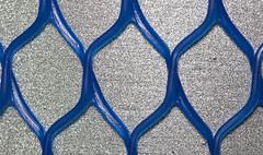 Blue Grid (Pioppo67) Tags: canon 80d rete sigma 105 macromondays theblues