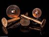 Kupferteile (J.Weyerhäuser) Tags: makro kupfer nagel studio blitz