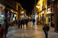 Lima Street (ghostwheel_in_shadow) Tags: america laketiticaca pasajelima peru puno southamerica night nighttime nightime road street streetphotography streetscene thoroughfare transport transportation pe