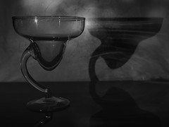 Toasting with loneliness (Grafic Oz) Tags: toasting toast loneliness blancoynegro blackandwhite cheers glass copa wine