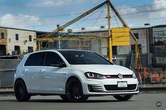 TSW Luco on VW MK7 GTI (tswalloywheels1) Tags: white volkswagen vw mk7 golf gti tsw luco concave monoblock aftermarket wheel wheels rim rims alloy alloys