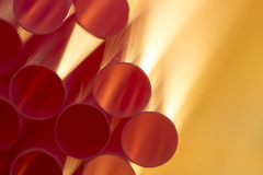 Bling thing (alideniese) Tags: macromondays circles 7dwf anythinggoesmondays macro closeup circle circular round straws pinkstraws colour colourful bokeh pink gold light alideniese shiny bright