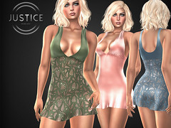 JUSTICE LILLY DRESS ([:.UNDERGROUND & JUSTICE.:]) Tags: secondlife fashion avatar virtualworld 3d 2ndlife maitreya slink physique hourglass belleza venus isis freya