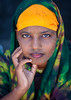 Portrait of a young woman wearing qasil on her face, North-Western province, Berbera, Somaliland (Eric Lafforgue) Tags: 1718years adultonly africa african africanethnicity barbara beautiful beauty berbera blackethnicity cosmetics cute developingcountry eastafrica face headandshoulders headshot hijab hornofafrica islam islamic lookingatcamera moisture muslim oneperson onepersononly onewomanonly outdoors portrait pretty protection qasil soma4059 somali somalia somaliland vertical women youngwoman northwesternprovince