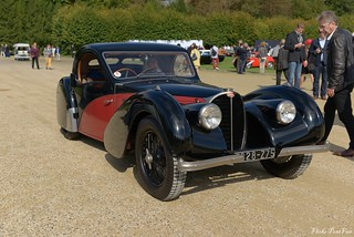 1937 Bugatti 57 SC Atalante coach Gangloff 57542