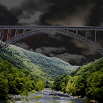 New River Gorge after the storm thumbnail