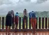 Watching monkeys play (Stinkee Beek) Tags: lombok adi leonard erin ethan