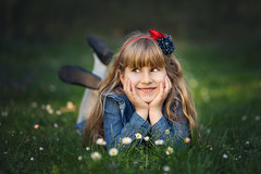 _DSC4617 (Ina K) Tags: flower flowers spring girls smile green girl childhood child