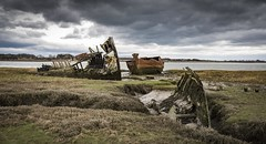 Old alone and done for (Nick Hirst) Tags: fleetwood boats wrecks fleetwoodboats rusted