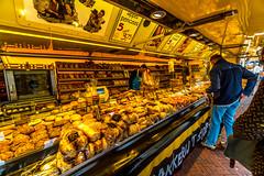 Leiden market (walterkolkma) Tags: netherlands leiden market markets fish vegetable cheese dutch sonya6500 stalls