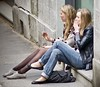 Friends (tonyhudson12526) Tags: smoking blondes friends