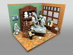 Sculptor (lego.insomnia) Tags: lego legomoc myowncreation sculptor build vignette afol