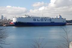 Glovis Chorus (jelpics) Tags: bostonautoport carcarrier glovis glovischorus roro cargoship commercialship merchantship boat boston bostonharbor bostonma harbor massachusetts ocean port sea ship vessel