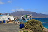 laundry I (Rasande Tyskar) Tags: puerto de la cruz fuerteventura canaryislands kanaren kanarischeinseln islascanarias laundry wäsche wäschestange sea meer port beach