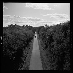 A long way to go (vincent-photo) Tags: caffenol ilford yashica yashica12 yashicaffenol 6x6 120 hp5 blackwhite analog film