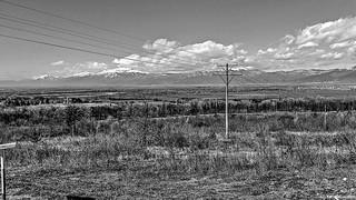 B&W landscape hdr