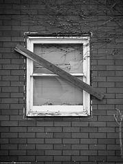 That Should Keep the Riff Raff Out (Don Henderson) Tags: riffraff brokenwindow derilictbuilding urbandecay gone randomwindow empty