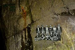 In the Lost World (PentlandPirate of the North) Tags: dinorwic snowdonia northwales dinorwig slate quarry gwynedd painting tunnel lostworld