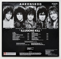 A0538 AARONSROD Illusion Kill (vinylmeister) Tags: vinylrecords albumcoverphotos heavymetal thrashmetal deathmetal blackmetal vinyl schallplatte disque gramophone album