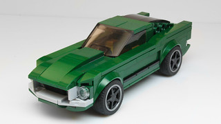 Lego Ford Mustang Bullit