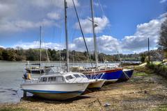 Forder Lake, near Saltash, Cornwall (Baz Richardson (now away until 21 June)) Tags: cornwall forder forderlake creeks yachts saltash