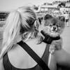 It's a dog's life (Stickyemu) Tags: streetphotography street candid blackandwhite bw cute dog portrait animal nikond7100 nikon50mm18