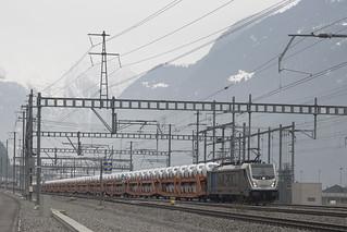 CH Railpool BLSc 187 004-7  Erstfeld 17-02-2018
