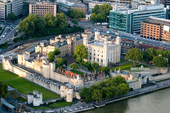 Tower Of London, London, United Kingdom (Nick Brundle - Photography) Tags: cityoflondon nikon2470mmf28 nikond750 tower toweroflondon aerialview gettyimages unitedkingdom england londonengland riverthames unescoworldheritagesite