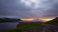 Smooth sunset (Rene Wieland) Tags: färöer faroe travel exlore landscape longexposure reise north atlantic clouds cliffs roadtrip