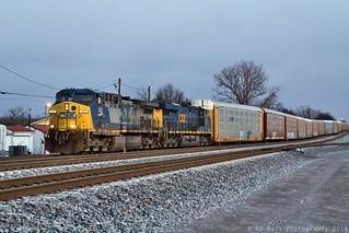 CSX Q210-11 at Murfreesboro,TN