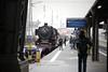 Frankfurt Hbf (Bixibahn) Tags: frankfurt hauptbahnhof zug eisenbahn dampflok dampfzug historisch steam train baureihe001 baureihe01 001150 per dampf über den gotthard zum lago maggiore classic courier sonderzug