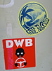 Stickers, Annapolis, MD (Robby Virus) Tags: annapolis maryland md stickers slaps dwb driving while black late risers island palm tree
