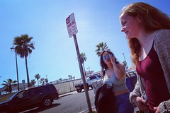 Girls at mission beach (mshseven_75) Tags: girl people sandiego california missionbeach street streetphotography portrait