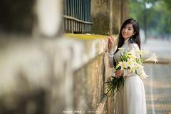 IMG_9646 (1985 IMAGE) Tags: hoa loa ken ao dai phan dinh phung cau long bien ga
