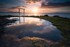 Punta Faxilda (jojesari) Tags: ar11718g 618 puntafaxilda puntaestofallas sanxenxo pontevedra galicia jojesari suso sunset atardecer puestadesol ocaso reflejos reflejo explore