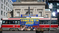 Come by chance (BruceK) Tags: comefromaway ttc streetcar kingstreetwest toronto