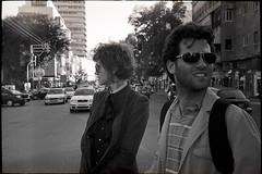 Tel Aviv 2009 (Valentine Kleyner) Tags: people portrait street israel telaviv bw film kodaktrix400