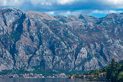 Wall (fotofrysk) Tags: wall mountainside rock waterfront houses homes buildings istriamontenegroroadtrip montenegro bayofkotor adriaticcoast dalmatiancoast afsnikkor703004556g nikond7100 201710099375