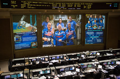 Expedition 55 Soyuz Docking (NHQ201803240005) (NASA HQ PHOTO) Tags: rickyarnold roscosmos drewfeustel russia internationalspacestationiss missioncontrolcentermoscowtsup korolev soyuzms08 expedition55 japanaerospaceexplorationagencyjaxa norishigekanai scotttingle olegartemyev antonshkaplerov tsup rus nasa joelkowsky