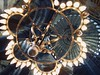 Heavenly Spheres (solas53) Tags: ceiling turkey istanbul light lamp sofia aga hagia up islam islamic